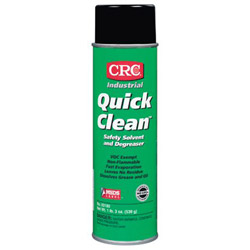CRC 03180 Quick Clean Safety Solvent and Degreaser, 19 Wt Oz