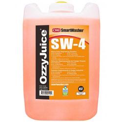 CRC Smartwasher OzzyJuice SW-4 Heavy Duty Degreasing Solution, 5 Gal