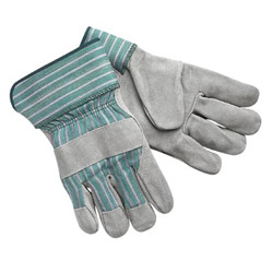 "Memphis Glove Select Shoulder Leatherpalm w/2-1/2"" Ru"