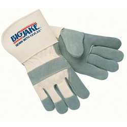 "Memphis Glove Large Big Jake 4-1/2"" Gauntlet Cuff Full Featur"