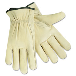 Memphis Glove Xl Reg. Grade Drivers Glove Grain Leather Key