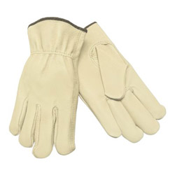Memphis Glove Med. Straight Thumb Grain Leather Drivers Glo