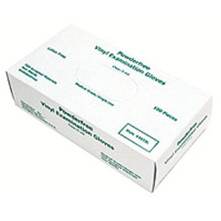 Memphis Glove Medium 1/2mm Medical Vinyl Gloves, Box of 100
