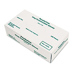 MCR Safety Disposable Vinyl Gloves, Large, 5 mil, Medical Grade