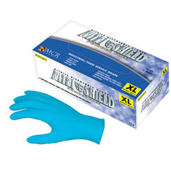 Memphis Glove XLarge 4 Mil Nitrile Shield Disposable Glove Powder Free