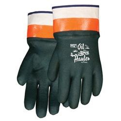 Memphis Glove Oil Hauler Dark Greenpremium Double Dip Pvc