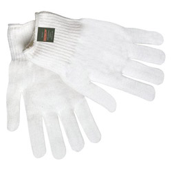 Memphis Glove 100% Thermstat White String Glove Dupont Holl