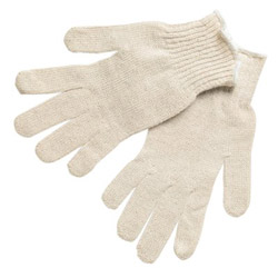 Memphis Glove Large Cotton/polyester Natural String Knit Glove