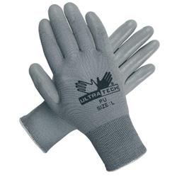 Memphis Glove ULTRA TECH GRAY PU PALMNYLON 13 GAUGE