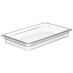 Cambro Food Pan 1/1 X 2 in Camwear® Clear