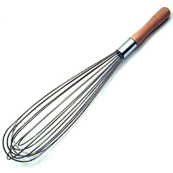 "Best Manufacturers Standard 18"" French Whip with Wooden Handle"