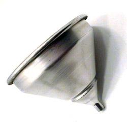 "American Metalcraft 7"" Spun Aluminum Funnel"