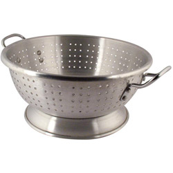 Libertyware 11 Quart Heavy Duty Aluminum Footed Colander