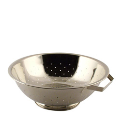 Libertyware 3 Quart Stainless Steel Footed Colander