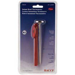 "Cooper Instrument 5"" Stick Pocket Test Thermometer 40/180"