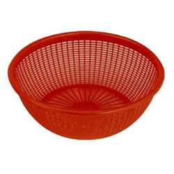 Misc Imports Plastic Wash Basket