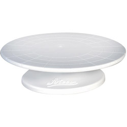 "August Thomsen 12"" Plastic Cake Stand"
