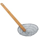 Thunder Group Skimmer Round Bamboo handle 6 in