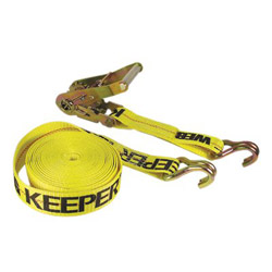 "Keeper 2"" x 27' Ratchet Tie Down10000 Lbs w/J Hook"