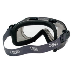 Crews Cr 2410f Goggle Gry/clear