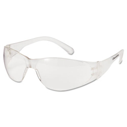 Crews Checklite Safety Glassesuncoated Clear Lens