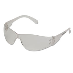 Crews Checklite Safety Glasses, Clear Frame, Anti-Fog Lens
