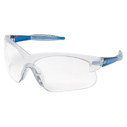 Crews Deuce Blue Frames Clearlens Safety Glass