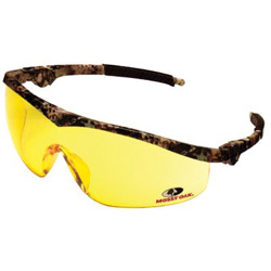 Crews Mossy Oak Forest Floor Camo Fr. Amber Lens 12/bo