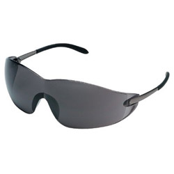 Crews Blackjack, Chrome Framegrey Lens Safety Glass
