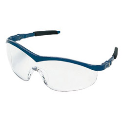 Crews Storm Navy Frame Clearlens Safety Glass