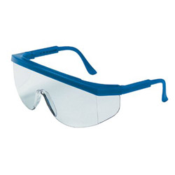 Crews Tamahawk Blue Frm Clearlens Safety Gls