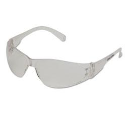 Crews Checklite Safety Glasses, Clear Frame, Anti-Fog Lens