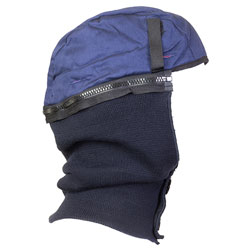 Jackson Safety* Thermal Liner, Cotton Twill and Nylon Knit, Polyester Fleece Lining, Blue