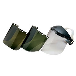Huntsman F30 Acetate Face Shields, 8154, Clear, 15.5in x 8