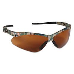 Jackson Safety Nemesis Camo Safety Glasses Bronze Lens Corded