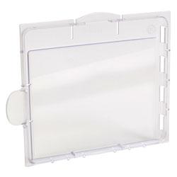 Jackson Safety* TrueSight Lens & Cartridges, Internal Safety, 5 1/4 x 4 1/2, Polycarbonate