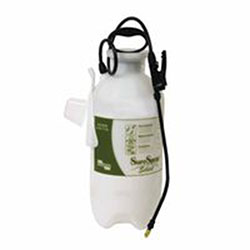 Chapin SureSpray Poly Sprayer, 3 gal, 14 in Extension, Adjustable Brass Nozzle