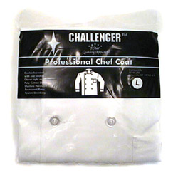 Challenger White Large 44-46 Chef Coat