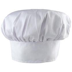 """Challenger 13"""" White Chef Hat"""