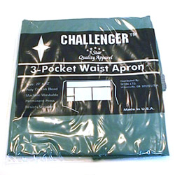 Challenger 3 Pocket Hunter Green Waist Apron