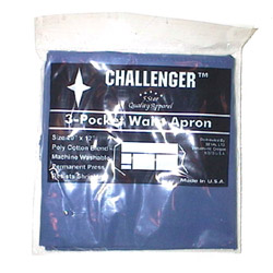 Challenger 3 Pocket Royal Blue Waist Apron
