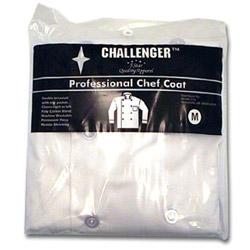 Challenger White Medium 40-42 Chef Coat