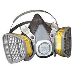 3M 21579 Half Mask Respirator Large for Organic V