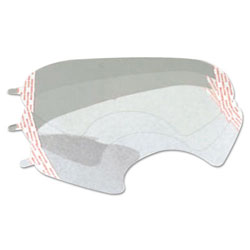 3M 6000 Series Full-Facepiece Respirator-Mask Faceshield Cover, Clear
