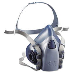 3M Half Facepiece Respirator 7500 Series, Reusable