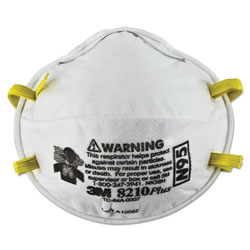 3M Particulate Respirator 8210Plus, N95, 20/Box