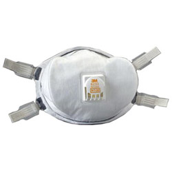 3M N100 Maint. Free Particulate Respirator