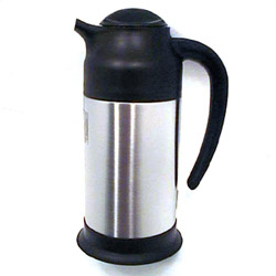 Misc Imports 7/10 Liter Hot/Cold Stainless Steel Server