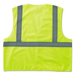 Ergodyne GloWear 8205HL Type R Class 2 Super Econo Mesh Safety Vest, Lime, Large/X-Large
