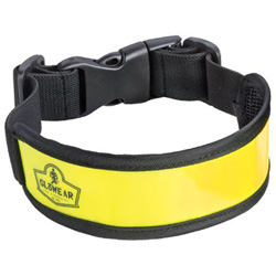 Ergodyne GloWear 8003 Arm/Leg Bands, One Size, Lime